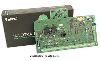 centrala alarmowa satel integra plus