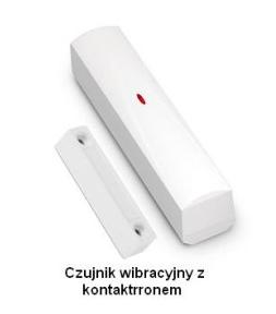 czujnik wibracyjny z kontaktronem