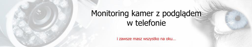monitoring kamer, system monitoringu, monitorowanie kamerami