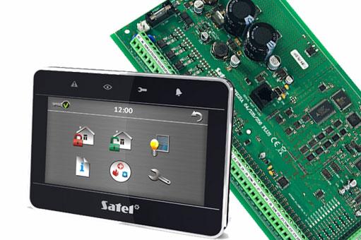montaż systemu alarmowego satel integra, satel integra montaż, instalacja satel integra,