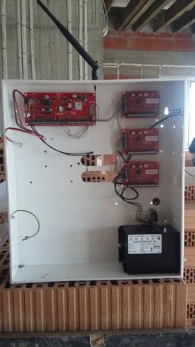 Genevo Prima 64 montaż systemu alarmowego