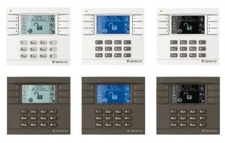 Klawiatury-Genevo-Prima-LCD montaż systemu alarmowego Genevo montaż genevo instalacja genevo instalator genevo