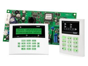 satel CA-5 montaż ca-5, instalacja ca-5, satel ca5,